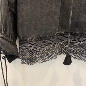 Zadig & Voltaire Tops - Zadig & Voltaire sueded cotton blouse. XS/S